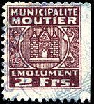Switzerland Moutier 1945 revenue 2 2Fr - 14B.jpg