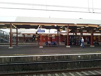 Sydenham railway station, Sydney - Image: Sydenham NSW 2044, Australia panoramio (9)