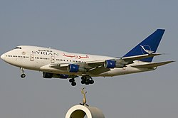 Syrian Arab Airlines Boeing 747SP.jpg
