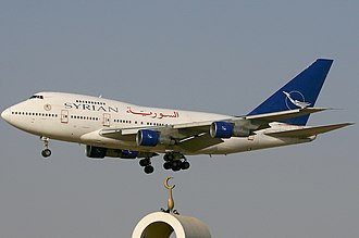 Syrian Air - Syrian Air Boeing 747SP