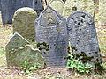Třešť Jüdischer Friedhof - Grabsteine 3.jpg