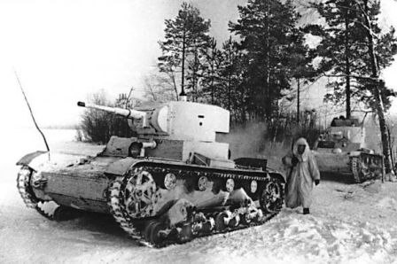T-26 during the winter 1941-42