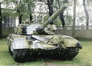 Combination K - A T-64, the first tank to use Combination K