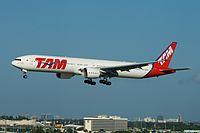 PT-MUJ - B77W - LATAM Brasil