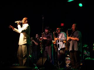 Tower of Power American soul and funk band
