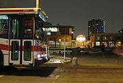 TTC bus at York