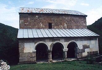 Zestafoni Municipality - Image: Tabakinichurch