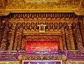 Taipeh Guandu Temple Haupthalle Innen 09.jpg