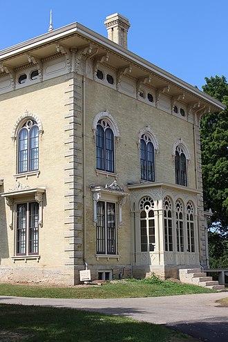 Lincoln–Tallman House - Image: Tallman House 4