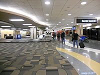 Tampa International Airport Red Bag Claim 2011.JPG