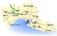 Collegamenti della Provincia di Taranto