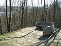 Taras Shevchenko bench in Vyshnivets.jpg