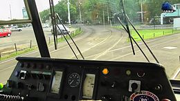 File:Tatra KT4D Cabview in Oradea (Autumn Edition).webm