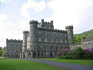 Taymouth Castle - Taymouth Castle's eastern façade