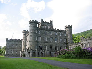 Taymouth Castle castle in Perth and Kinross, Scotland, UK