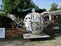 Tea Pot Sculpture at Beningbrough Hall - geograph.org.uk - 1541723.jpg