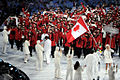 Team Canada at 2010 Winter Olympics opening ceremony 2.jpg