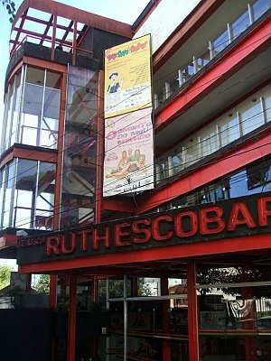 Ruth Escobar - The Teatro Ruth Escobar, which was founded by Escobar in 1963.