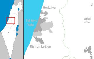 Municipality in Tel Aviv District, Israel