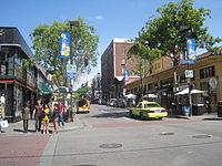 Telegraph Ave., Berkeley looking north 1.JPG