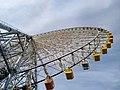 Tempozan Giant Ferris Wheel upwards view.jpg
