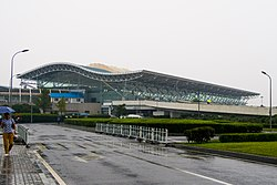 Terminal 1, Ningbo Lishe International Airport, 2015-10-01.JPG