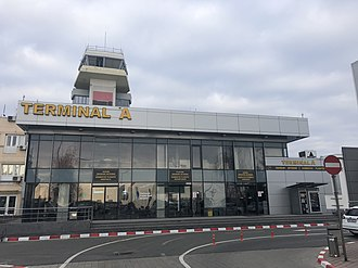 Timișoara Traian Vuia International Airport - Timișoara International Airport domestic terminal