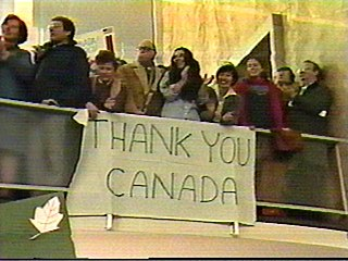 Canadian Caper Rescue of US diplomats from Iran, 1980