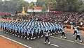 The Air Force Marching Contingent passes through the Rajpath, on the occasion of the 68th Republic Day Parade 2017, in New Delhi on January 26, 2017.jpg