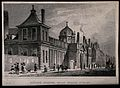 The British Museum in Montague House; the Russell Street fac Wellcome V0013505.jpg