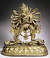 The Buddhist Deities Chakrasamvara and Vajravarahi LACMA M.80.110.jpg