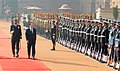 The Chinese Premier, Mr. Wen Jiabao inspecting the Guard of Honour, at the Ceremonial Reception, at Rashtrapati Bhawan, in New Delhi on December 16, 2010.jpg