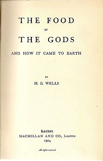 The Food of the Gods and How It Came to Earth - Title page of the first edition