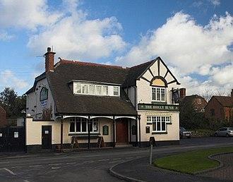 Hurley, Warwickshire - Image: The Holly Bush, Hurley geograph.org.uk 108603