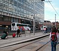 The Luas Busaras stop in Store Street - geograph.org.uk - 1455807.jpg