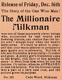 write a paragraph on milkman