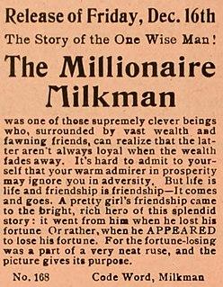 <i>The Millionaire Milkman</i> 1910 film