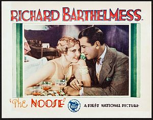 The Noose (film) - Lobby card