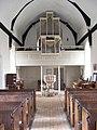 The Organ and Font of St.John the Baptist Church, Snape - geograph.org.uk - 1448939.jpg