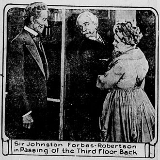The Passing of the Third Floor Back (1918 film) - Scene from the film