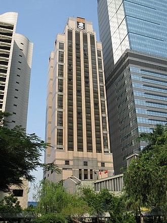 The Ritz-Carlton, Hong Kong - former hotel building, in Central, Hong Kong