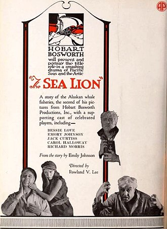 The Sea Lion - Advertisement