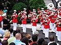 The U.S. Marine Corps Band plays patriotic music, July 4, 2009.jpg
