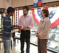 The U.S Consulate Chennai celebrated its two-year anniversary on Facebook with U.S. Consul General Jennifer McIntyre, actors Bharath Srinivasan and Jeyam Ravi05.jpg