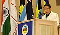 The Union Minister for Information & Broadcasting and Parliamentary Affairs, Shri Priyaranjan Dasmunsi, addressing at the opening Ceremony of the 53rd Commonwealth Parliamentary Conference, in New Delhi on September 25, 2007.jpg