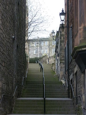 Vennel - The Vennel, off Edinburgh's Grassmarket