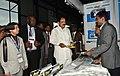 The Vice President, Shri M. Venkaiah Naidu going around the Exhibition on Global Expo Botswana 2018, in Gaborone, Botswana on October 31, 2018.JPG