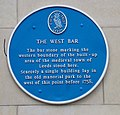 The West Bar Plaque.JPG