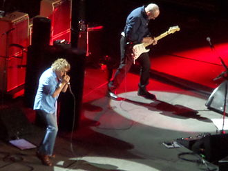 Baba O'Riley - The Who performing Baba O'Riley live at Manchester Arena in 2014.
