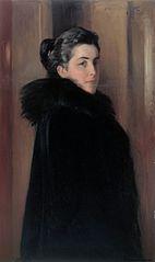Portrait of the Artist's Wife Ellen Edelfelt